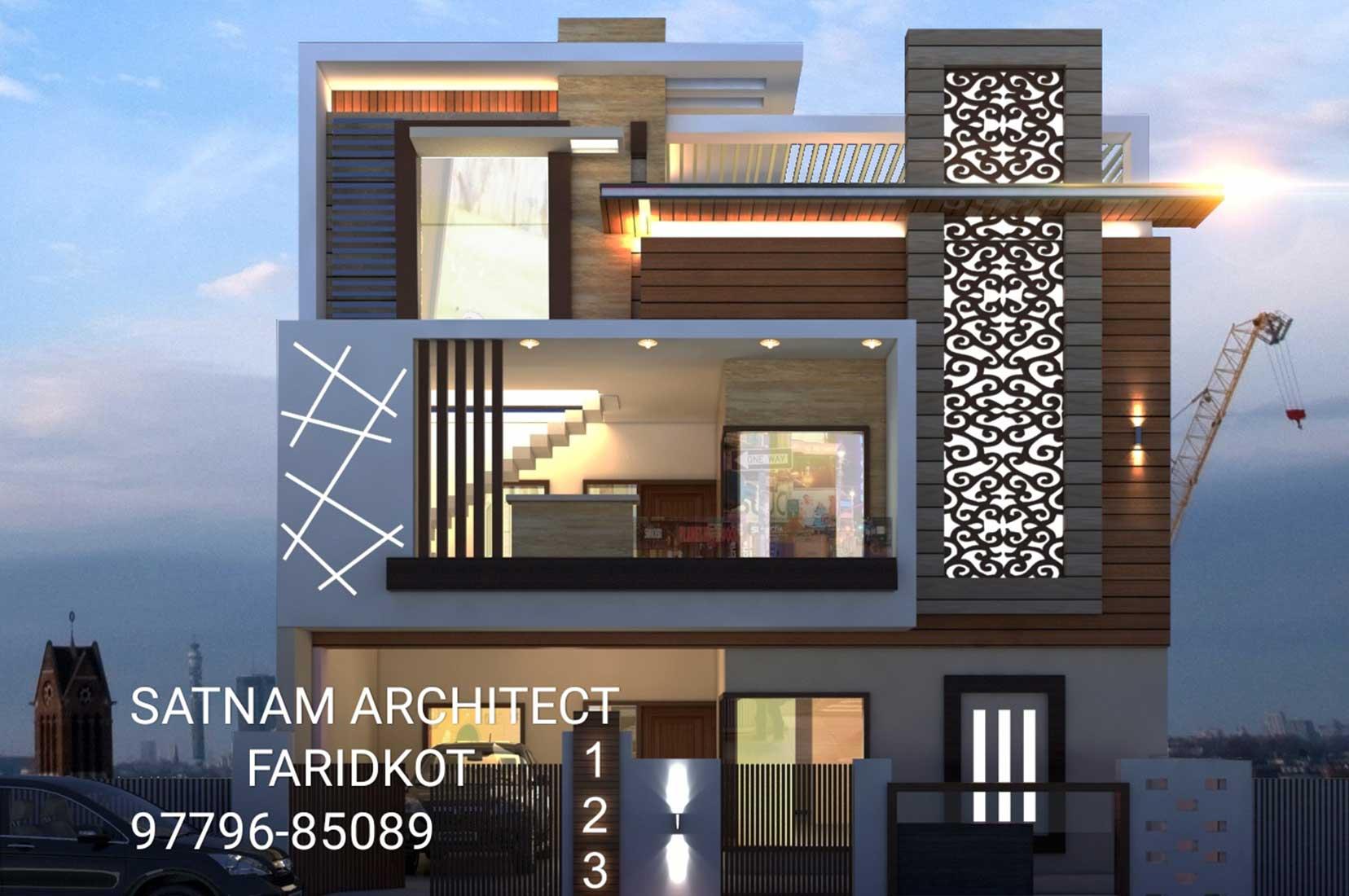 Exterior: Latest Interior Exterior Design In Faridkot, Mukatsar